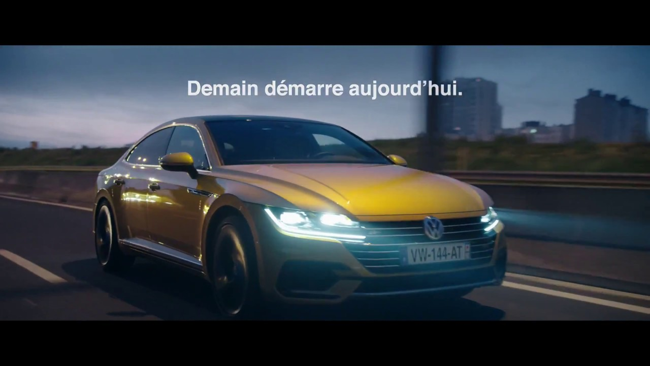 pub volkswagen arteon france 2017 youtube. Black Bedroom Furniture Sets. Home Design Ideas