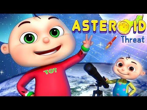 Zool Babies Series - Asteroid Threat | Cartoon Animation For Children | Videogyan Kids Shows
