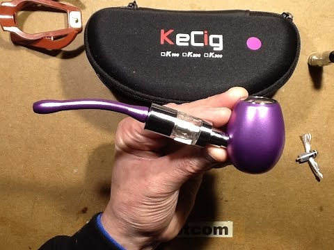 A look at a K1000 style e-pipe.  Very simple and modular.