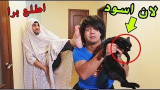 امي خلتني اذب القطة مالتي (البزونة) _ وطردتني من البيت  ◄تحشيش   مصطفى ستار
