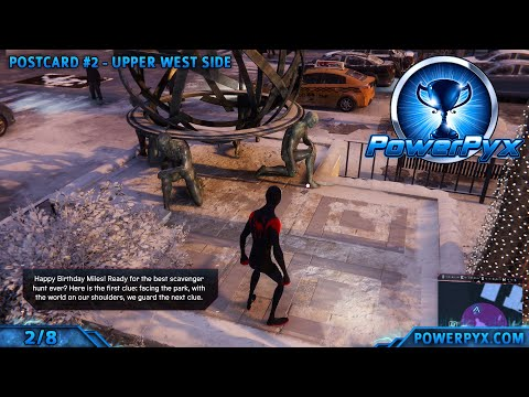 Spider-Man Miles Morales All Postcard Locations (Memory Lane Trophy Guide)