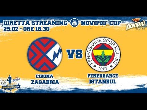 [Novipiù Europe Cup 2017 - Group A] Cibona Zagreb - Fenerbahce Istanbul