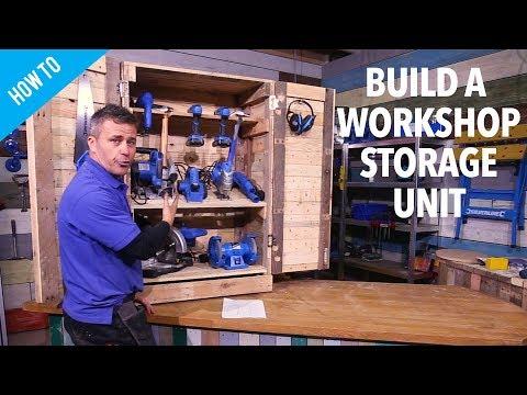How to build a workshop storage unit