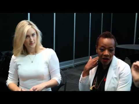 Blindspot's Ashley Johnson May and Marianne Jean Baptiste Patterson !