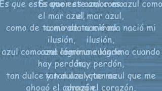 Cristian Castro Azul Testo