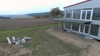 Domy z modulu - dron - video 2