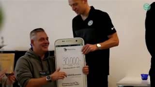 VFF donerer 30.000 kr. til rygmarvsskadede