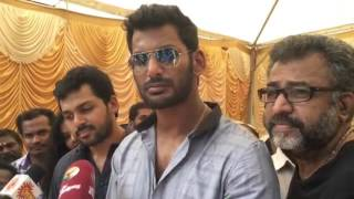 "Vishal - ""We will announce very soon"""