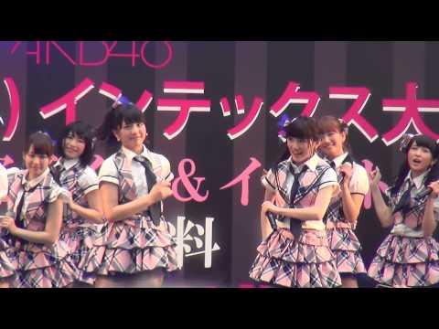 AKB48 大阪フリーライブ「ポニーテールとシュシュ」「恋するフォーチュンクッキー」2015/06/20 うめきた広場