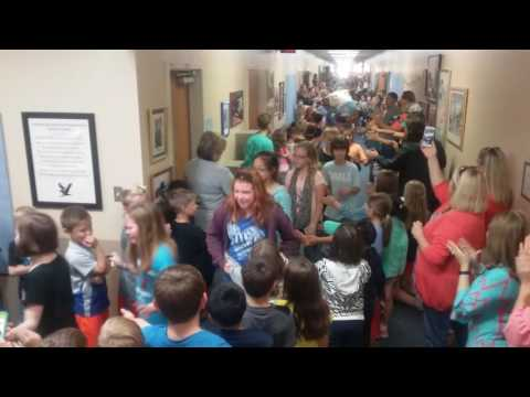 2016 Russell Dougherty Elementary School 5th grade Clap-out