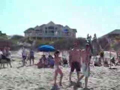 Duck Beach V-ball Championship Point