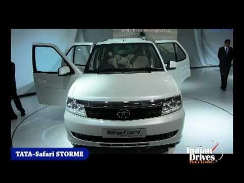 Tata Safari Storm Model First Look Interior Exterior Review Youtube