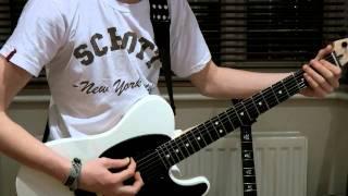 Repeat youtube video Slipknot - Psychosocial Guitar Cover (HD)