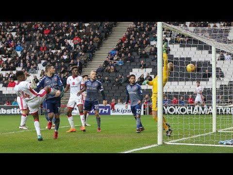 HIGHLIGHTS: MK Dons 1-2 Charlton Athletic