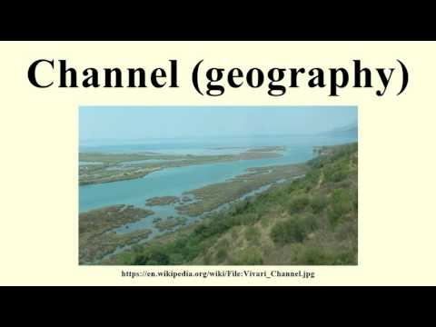 Channel (geography)