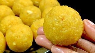 பூந்தி லட்டு😋   boondhi laddoo in tamil   boondhi laddu recipe in tamil   easy methodk boondhi laddu