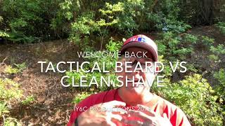 Tactical Beard vs Clean Shave shooting
