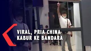 VIRAL! Warga China Ini Berusaha Kabur Bersama Anaknya yang Diduga Terkena Virus Corona