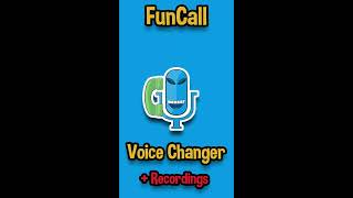 FunCall - In Call Voice Changer Recorder Dialer App instruction