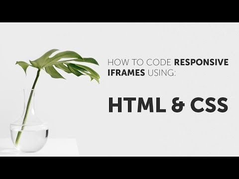 How To Make Iframe's Responsive (YouTube Embeds, Google Maps Etc.)