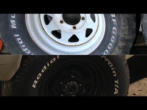 Spray Painting Cheap Wheels