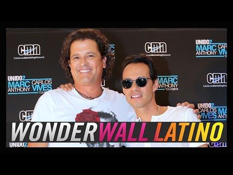 Marc Anthony y Carlos Vives recuerdan a Selena