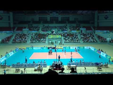 Petron Blaze (PHI) vs April 25 Sports Club (PRK) Set 1 Last Part
