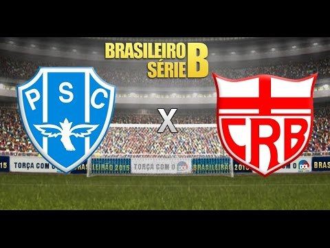 Os gols de Paysandu 2x2 CRB - 23/07/2016