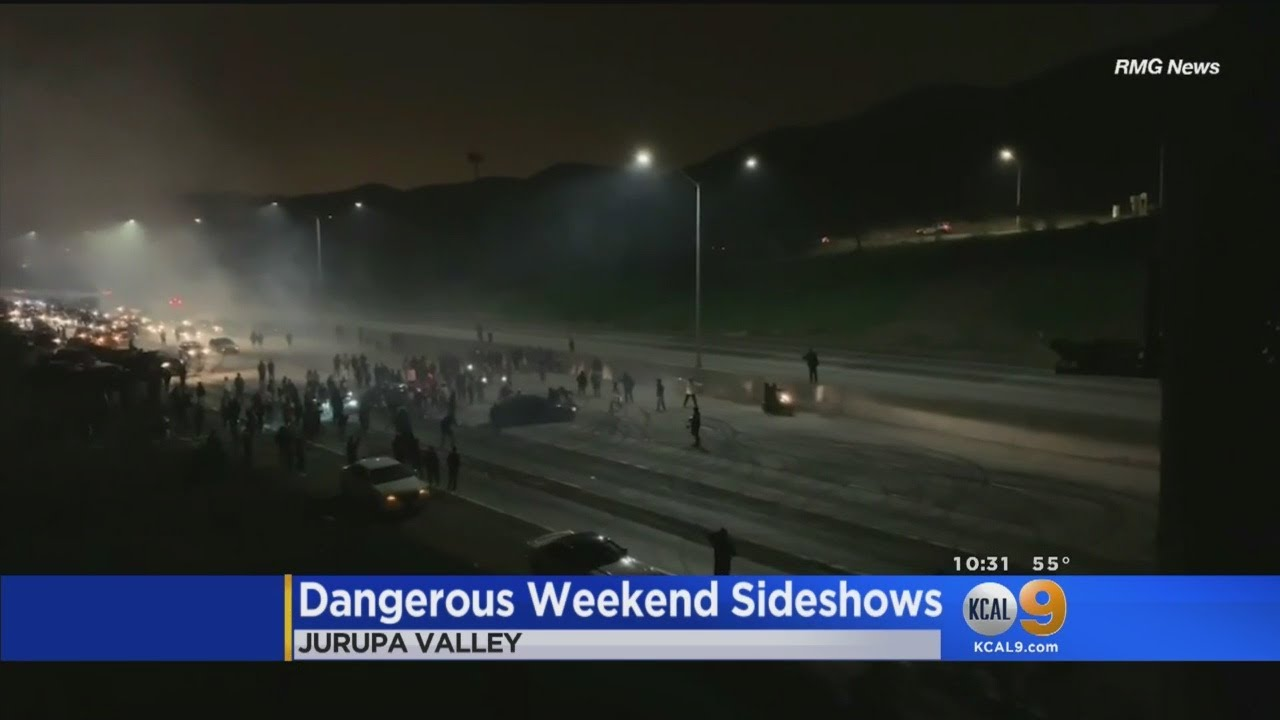 Street Racers Shut Down 60 Freeway Over The Weekend