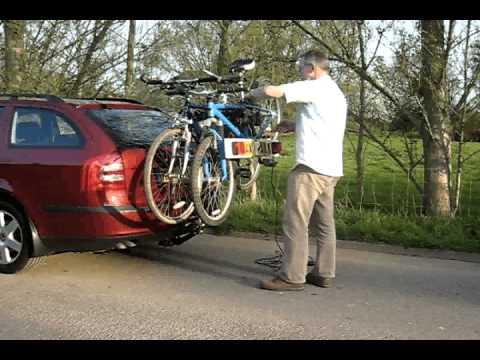 Loading Bikes Onto A Bike Rack Youtube