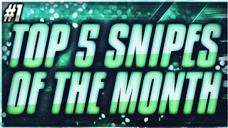 TOP 4 SNIPES OF THE MONTH | BANGER | NBA LIVE MOBILE!