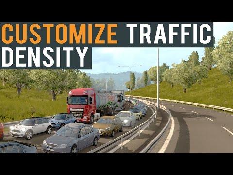 Euro Truck Simulator 2 (Tutorial) Customize Traffic Density