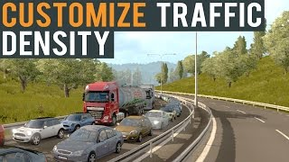 Euro Truck Simulator 2 Customize Traffic Density Tutorial Beta 1.22