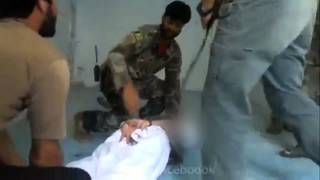 Afghan Soldiers Abuse Prisoner as American Special Forces Stand Idly By