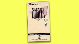 SMART CHOICES Texaco Energy Saving Tips 1990