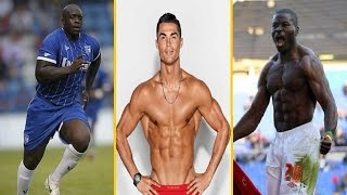 أضخم وأقوى 6 لاعبي كرة القدم في العالم