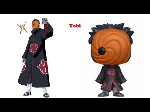 Naruto Shippiden As Funko POP  Pop Funko Vs Animation