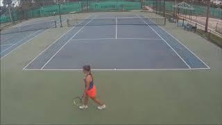 Dagmar Zdrubecka Tennis Recruiting video 2019