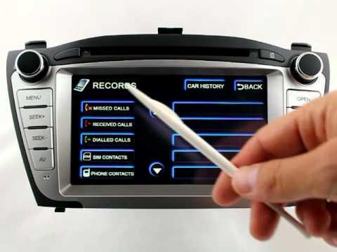 Nawigacja do Hyundaia ix35 produkcji FlyAudio nowo z lektorem