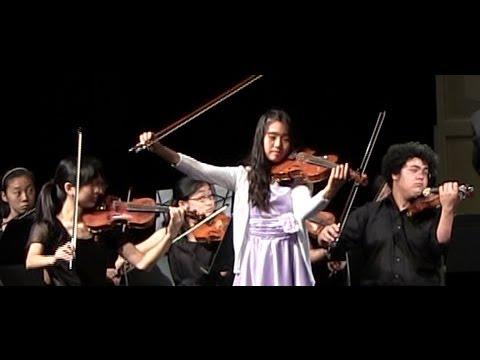 Amy Sze(12) - Vivaldi's Winter by the 2013 Montecito International Music Festival Chamber Orchestra