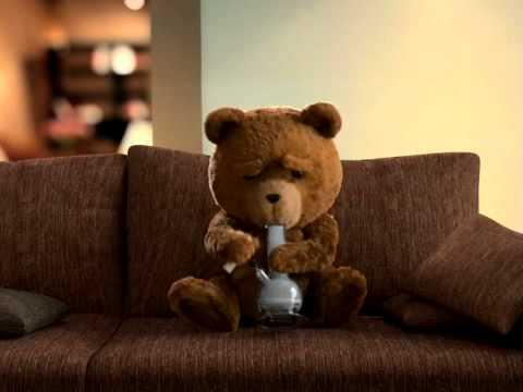 TEDDY BEAR DRINKING AND SMOKING !! - YouTube
