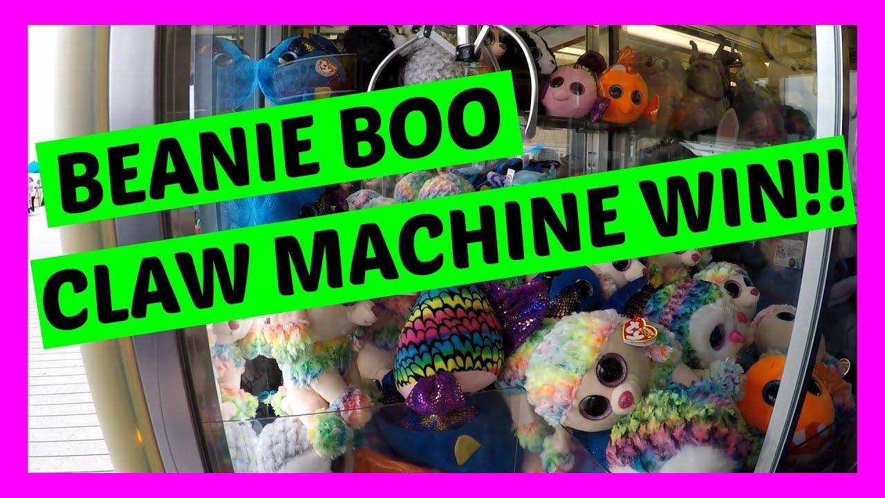 BEANIE BOO CLAW MACHINE WIN!! - YouTube 2b2c744c736