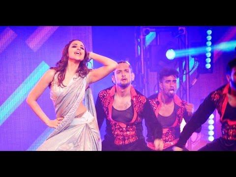 Parineeti performs on Priyanka's 'Desi Girl' wearing her sexy saree