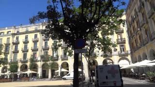 La Plaza de la Independencia -Gerona