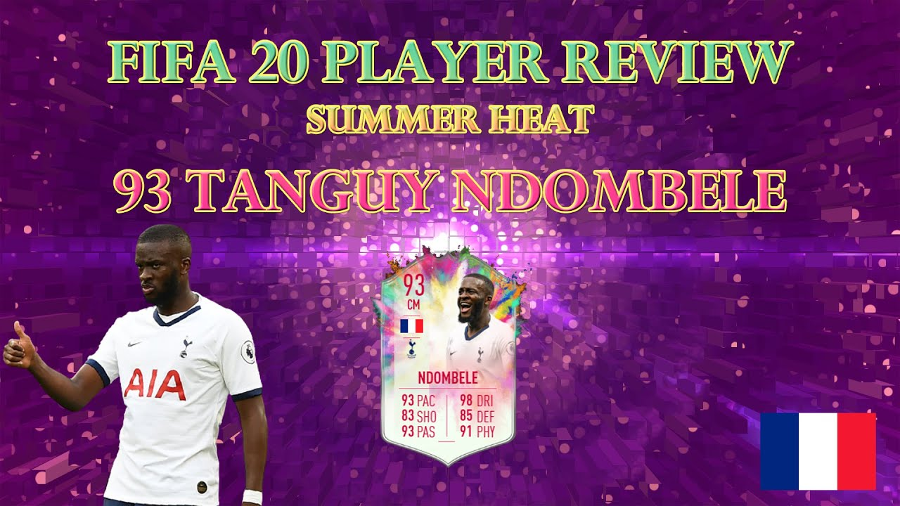 FIFA 20 PLAYER REVIEW - SUMMER HEAT NDOMBELE (NDOMBELE SBC Ultimate Team)