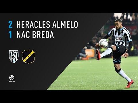 Heracles Almelo - NAC Breda 2-1 | 25-11-2017 | Samenvatting