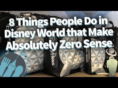 8 Things People Do in Disney World that Make Absolutely ZERO Sense!