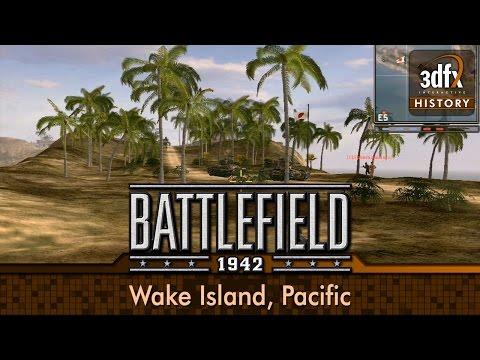 3dfx Voodoo 5 5500 PCI - Battlefield 1942 - Wake Island, Pacific (Instant Battle) [Gameplay/60fps]