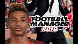 Gedson Fernandes in Football Manager 2018 - Benfica Young Mezzala Midfielder