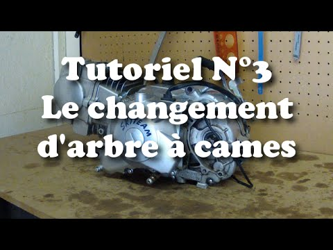 tutoriel n 3 le changement d 39 arbre cames youtube. Black Bedroom Furniture Sets. Home Design Ideas